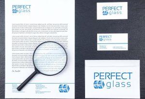 Wizualizacja - projket logo, papieru firmowego