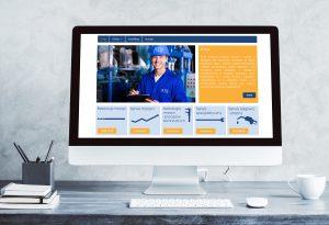 wizualizacja - layout strony internetowej
